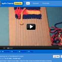 Tayli's YouTube video: 'Weaving on a Cardboard Loom'