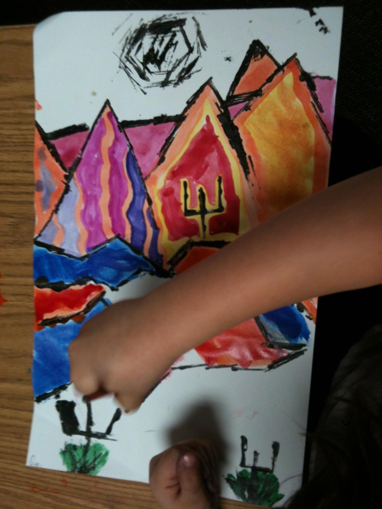 Paul Klee Painted Desert For Third Grade K 6 Artk 6 Art