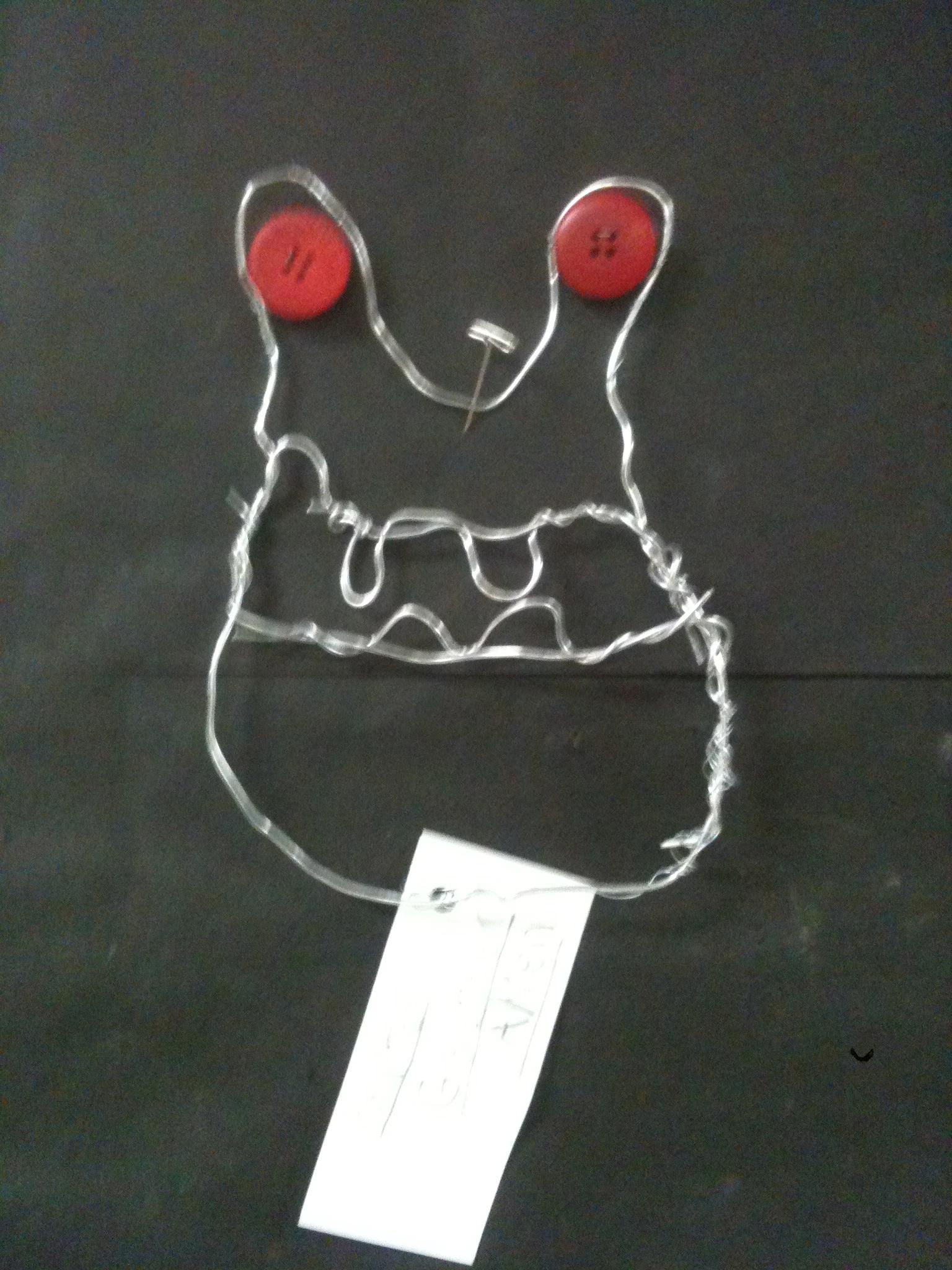 Calder Wire Sculpture for Fifth Grade - K - 6 ArtK – 6 Art