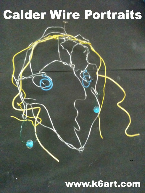 calder wire portraits