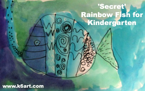 secret rainbow fish for kindergarten
