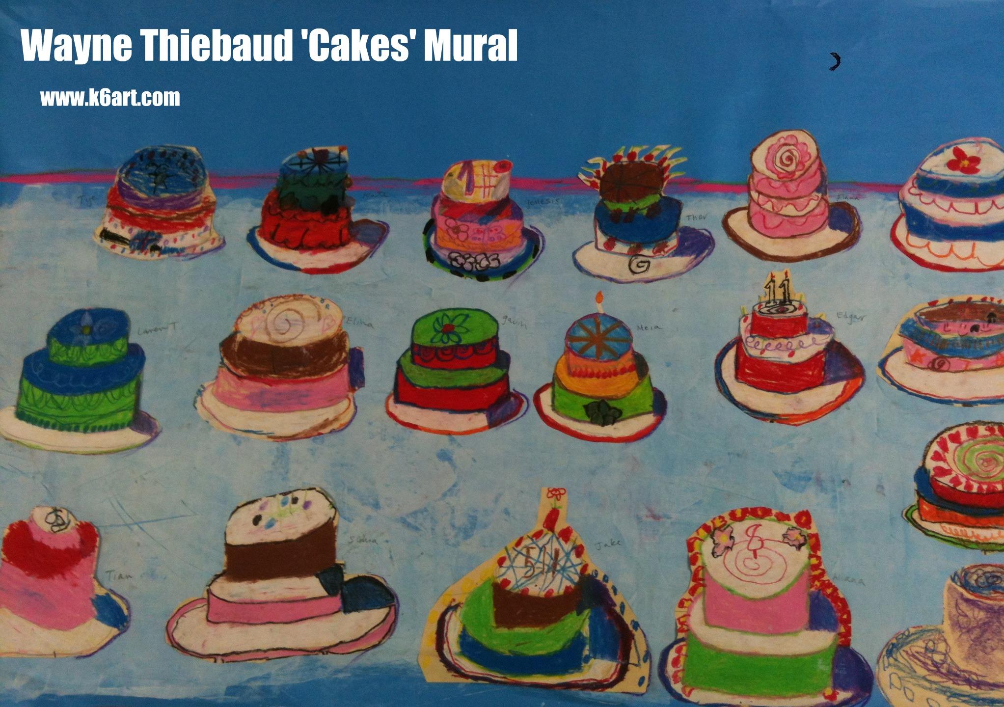 Cake Art Classes : cake ideas on Pinterest Wayne Thiebaud, Piece Of Cakes ...