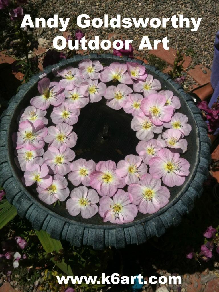 Andy Goldsworthy Art in the Garden - K - 6 ArtK – 6 Art