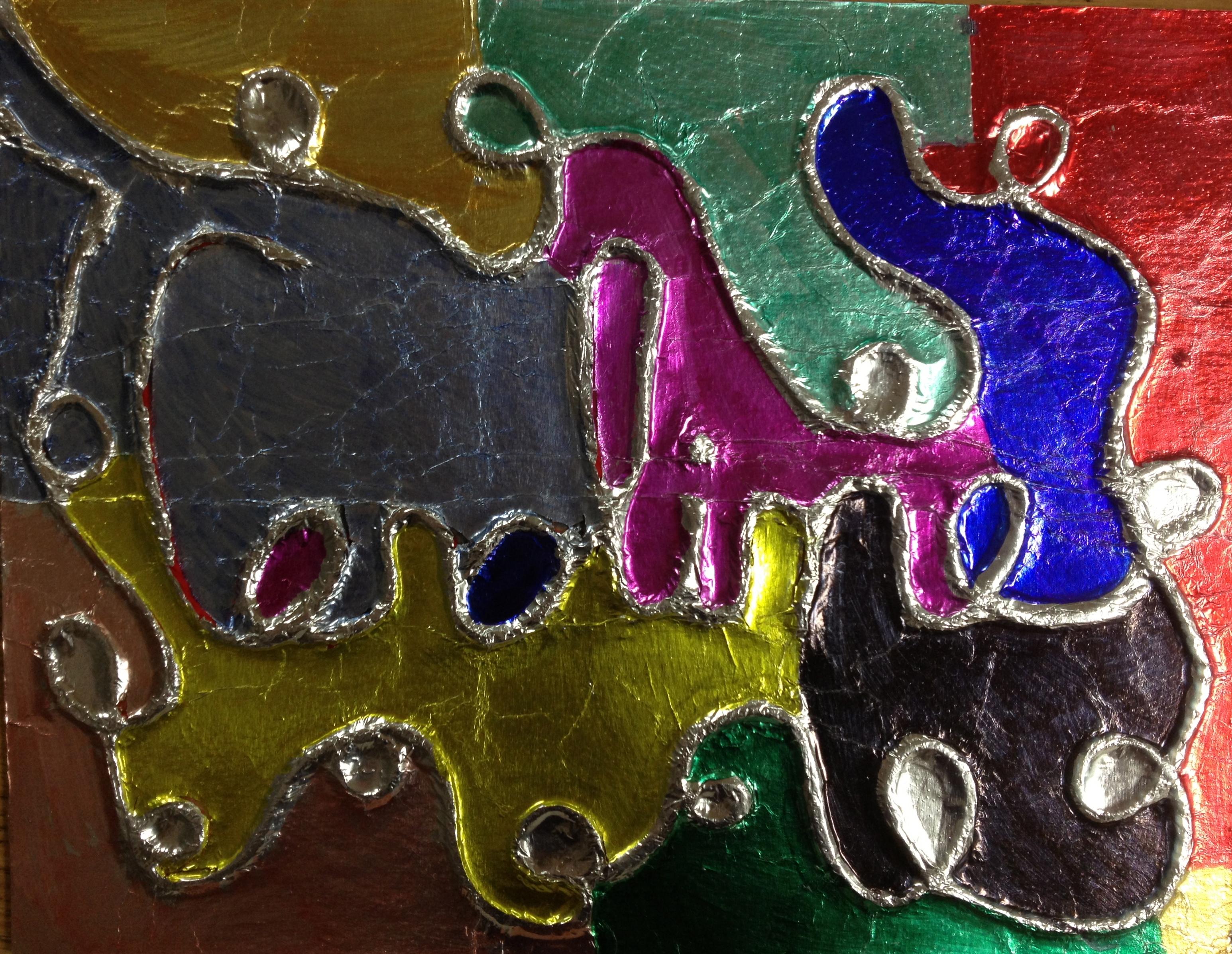 Embossed Foil Name Art K 6 Artk 6 Art