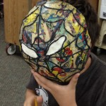 Teacher-made papier mache mask