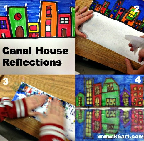 canal house collage