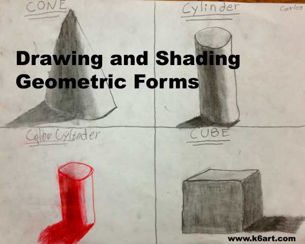 drawing and shading geometric forms