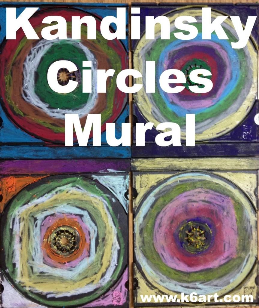 kandinsky circles mural