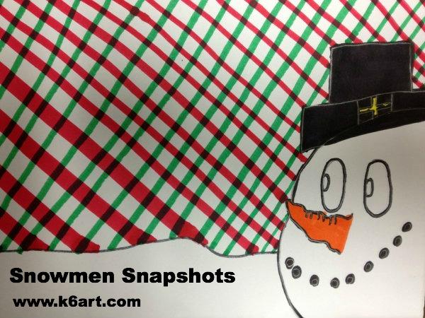snowmen snapshots