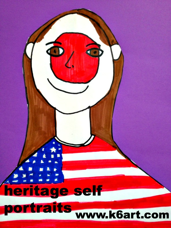heritage self portraits