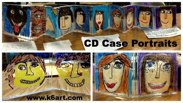 CD case portraits