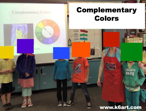 complementary color clothes