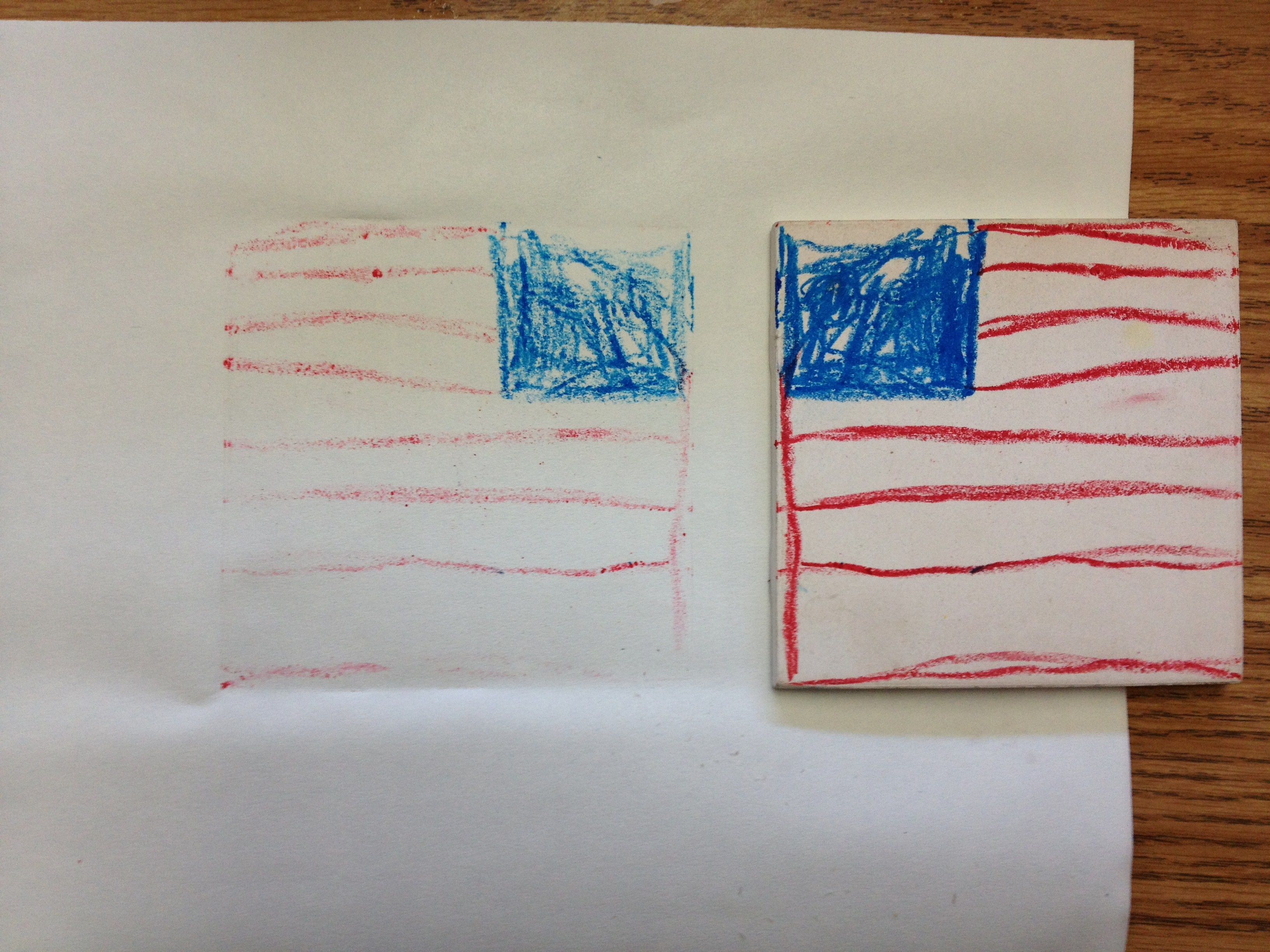 Fun with wax pastels k 6 artk 6 art for Drawing on wax paper