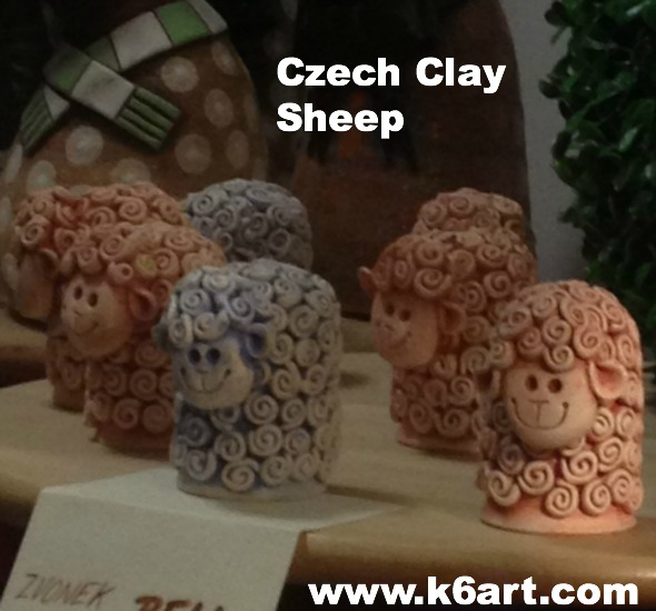 czech clay sheep