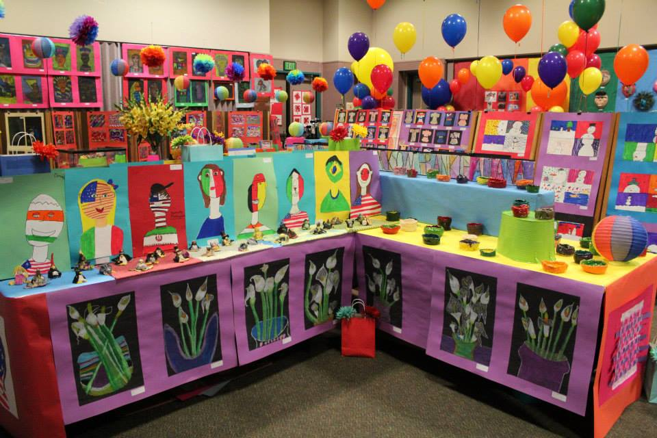 more art show display ideas k 6 artk 6 art