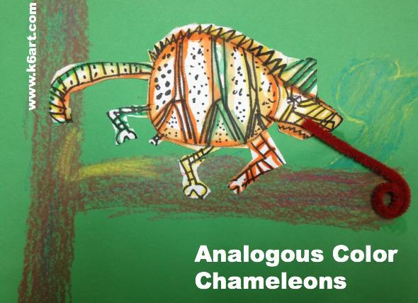 Analogous Color Chameleons