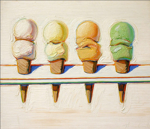 thiebaud cones