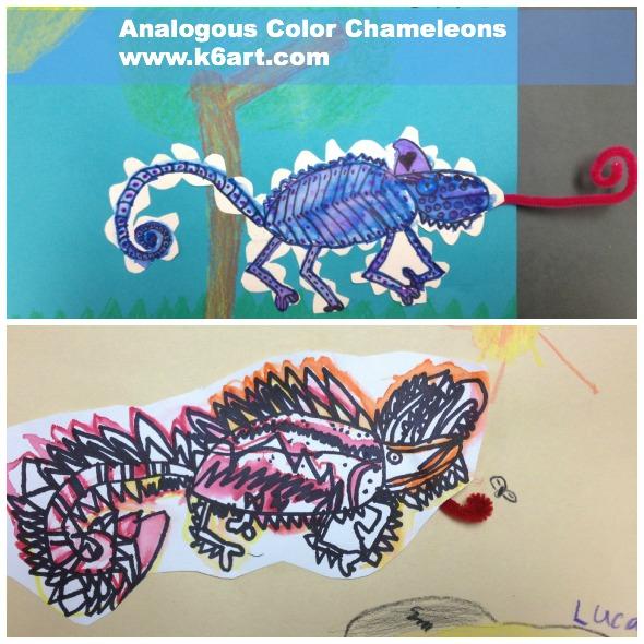 analogous chameleons