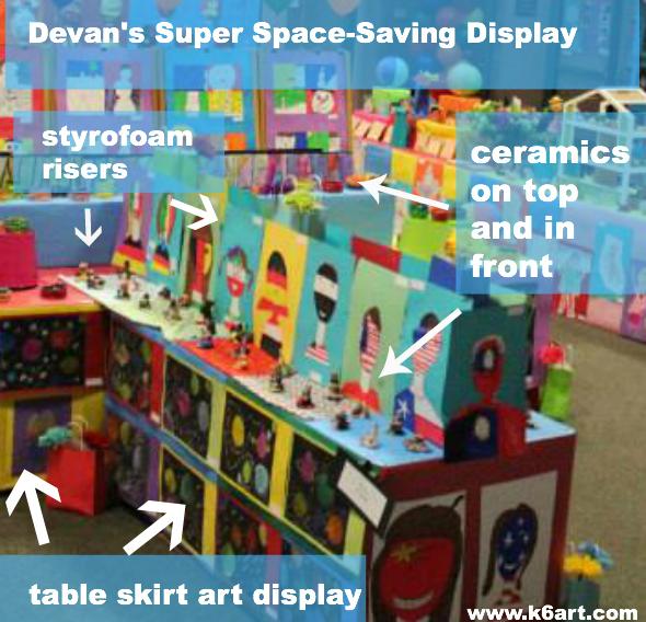 devan's super space saving display