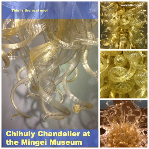 Mingei Museum Chihuly Chandelier