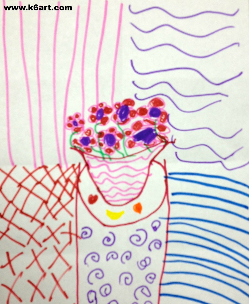 matisse vase of flowers 1