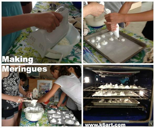 making meringues