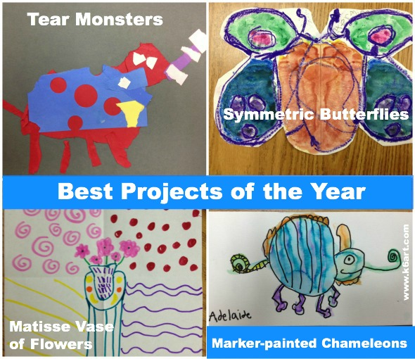 best projects of the year 2 primary grades