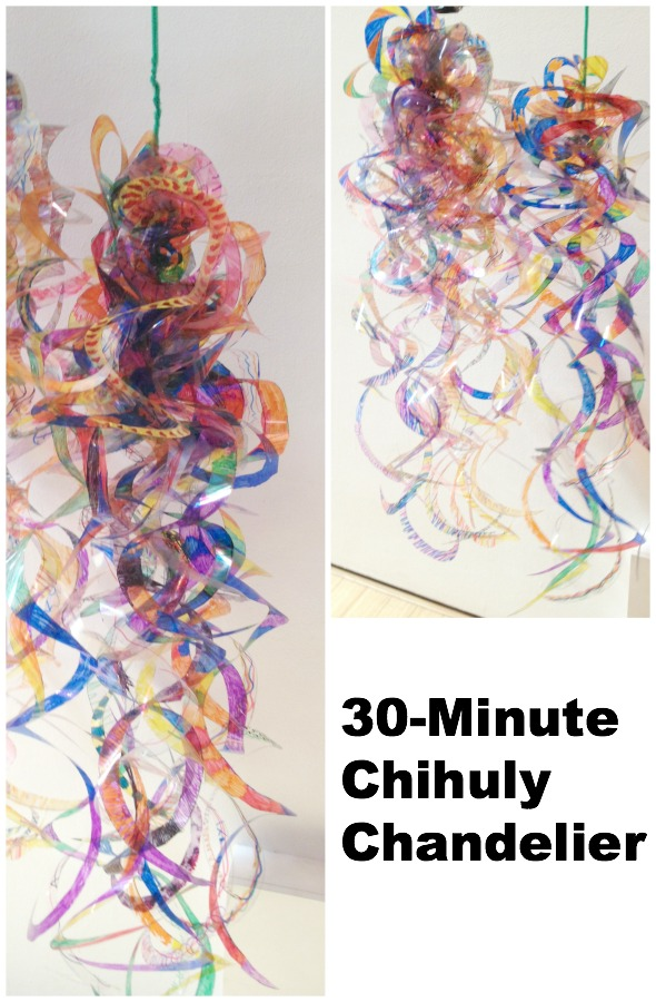 30 minute chihuly chandelier