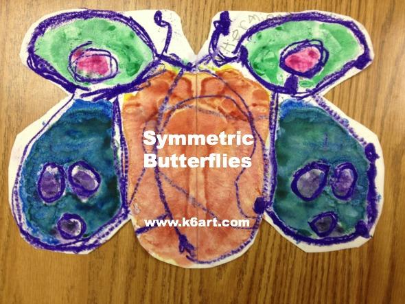 symmetric butterflies pinable