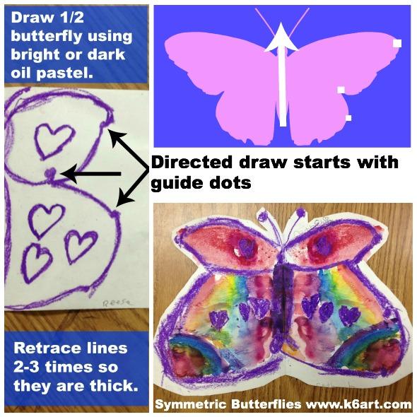 symmetric butterfly instructions