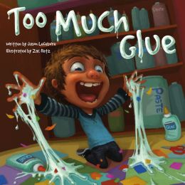 Too Much Glue by Matt LeFebre, 2013.