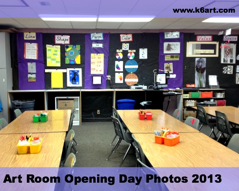 art room opening day photos 2013