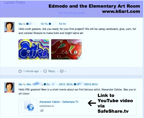 edmodo in the art room 2