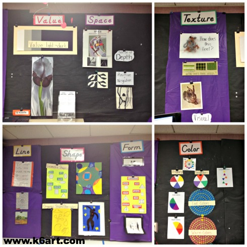 elements bulletin boards