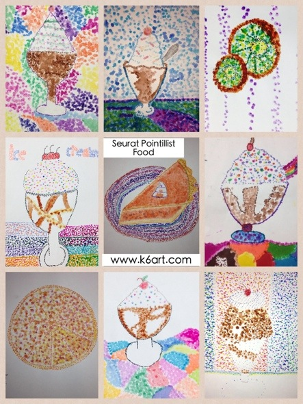 ... pointillism project? Please check out my earlier post for a Seurat