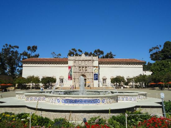 Balboa Park is the home to many San Diego arts institutions