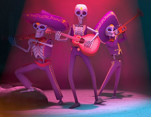 Gorgeous animated film 'Dia de los Muertos' by three college animation majors from Ringling College of Art and Design.