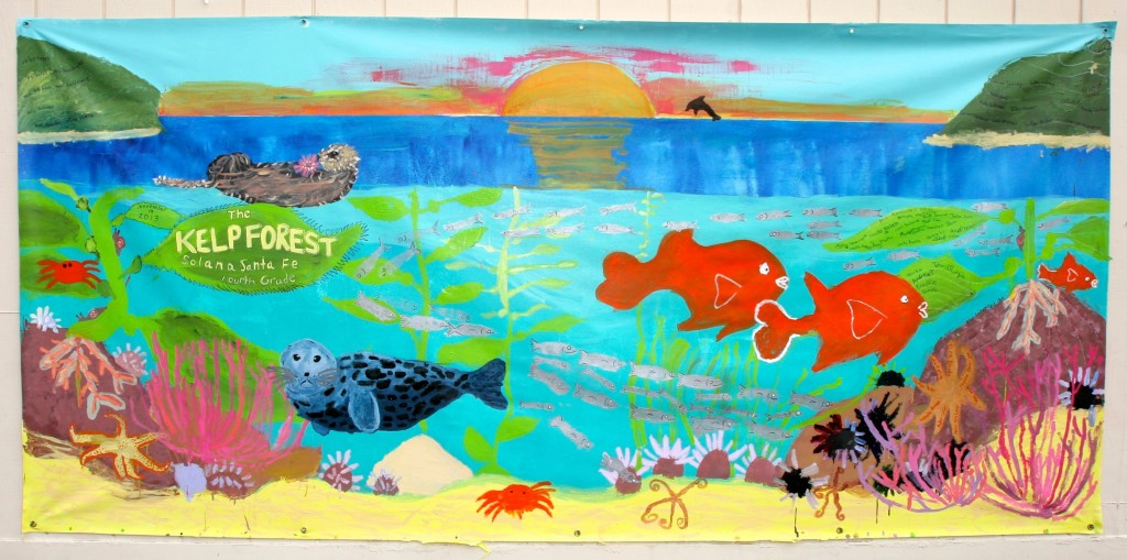 Our entry in the Wyland mural challenge