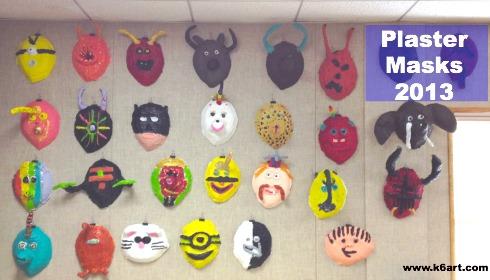 plaster masks 2013