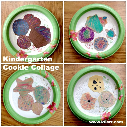 kindergarten cookie collage