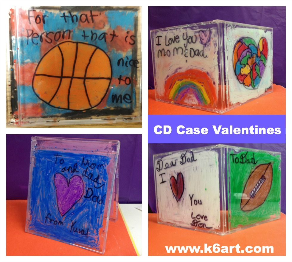 CD case valentines
