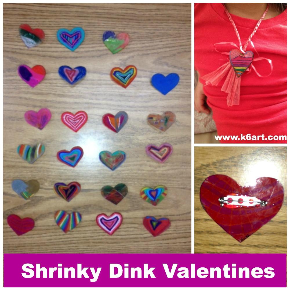 shrinky dink valentines
