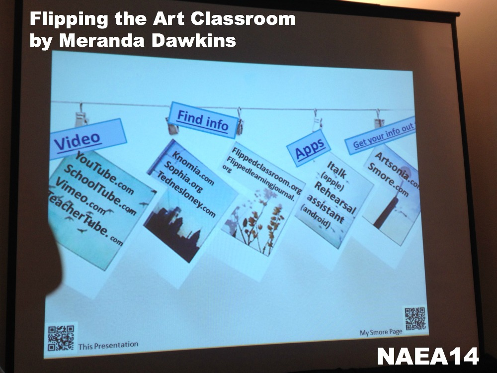 flipping the art classroom by meranda dawkins