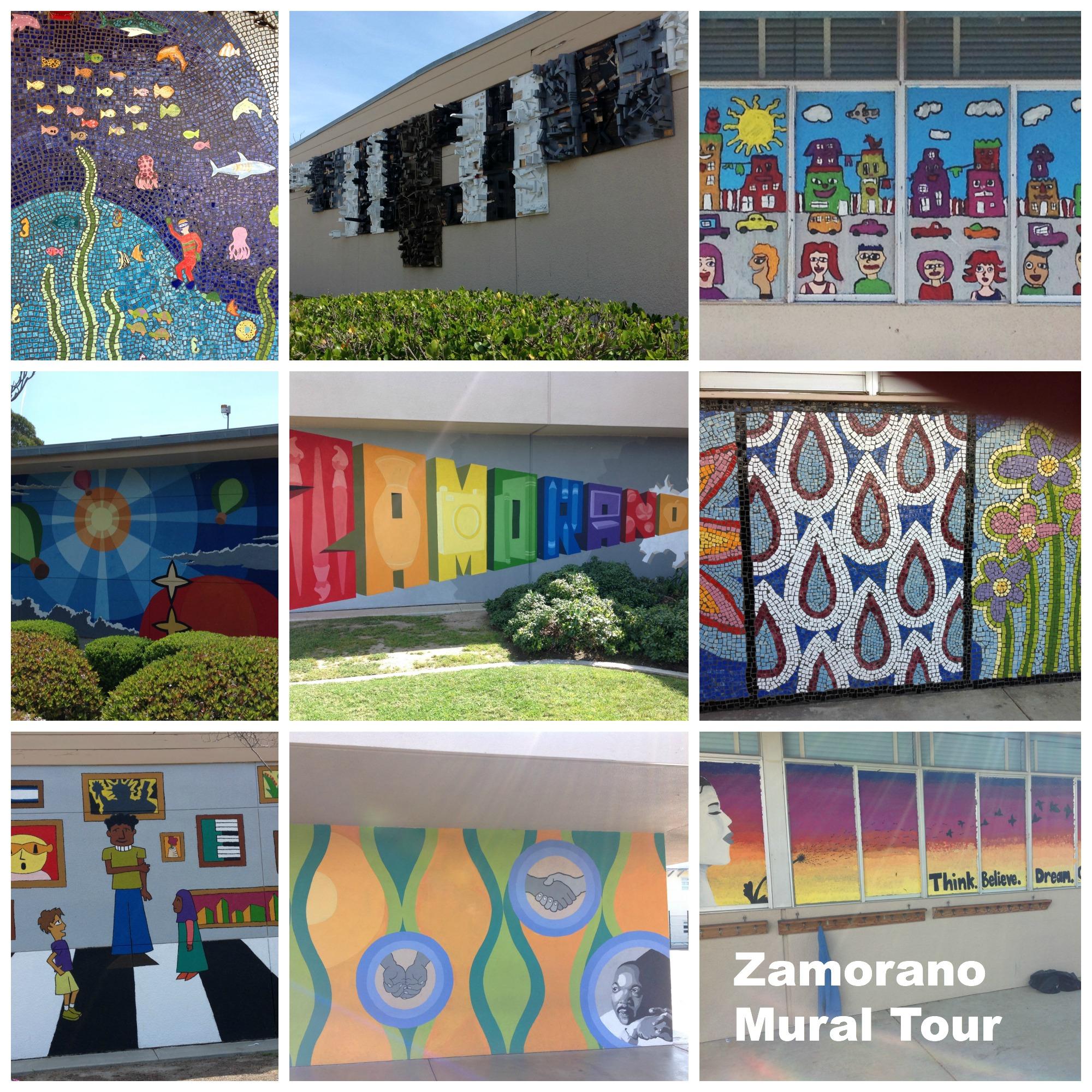 zamorano mural tour NAEA14
