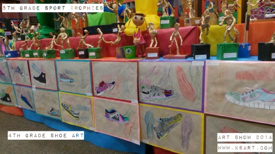 Upper grade art display