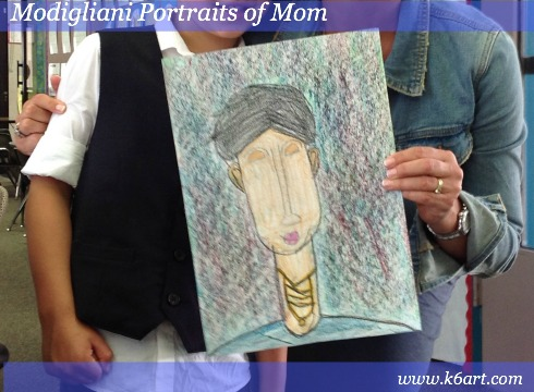 Modigliani portraits of mom