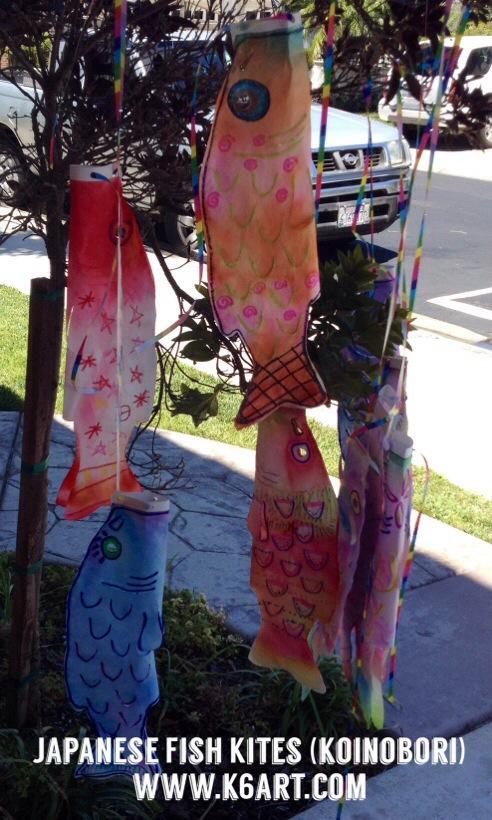 Koinobori fish kites