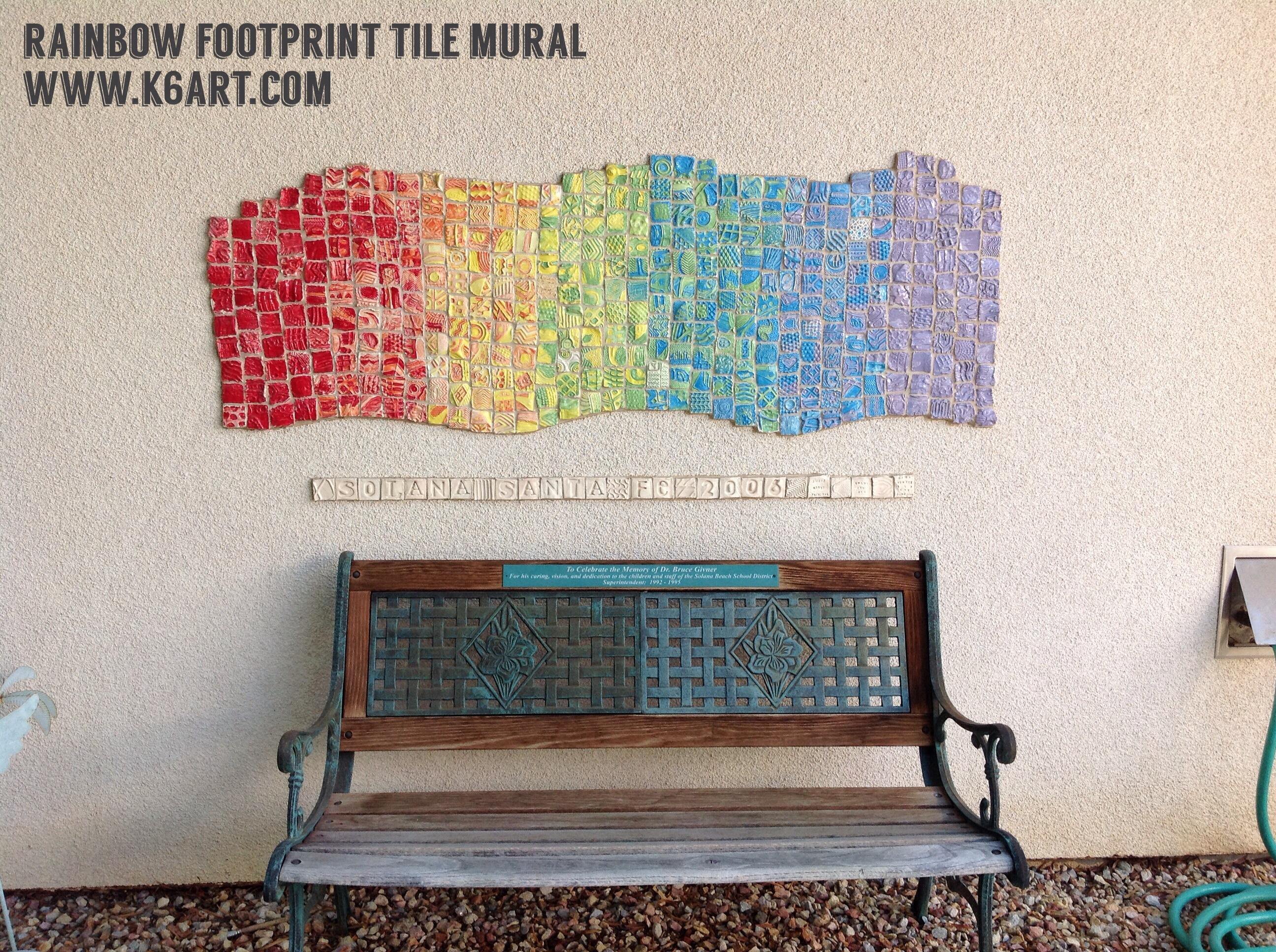 Mural archives k 6 artk 6 art for Clay tile mural