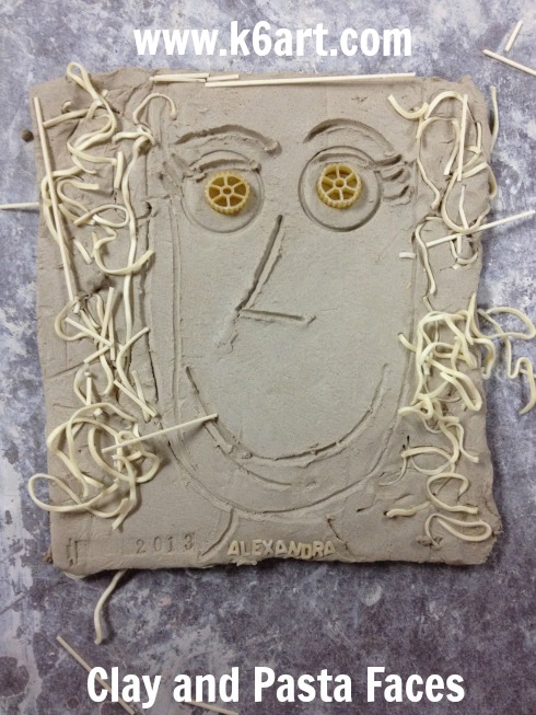 Alexandra's clay and pasta face