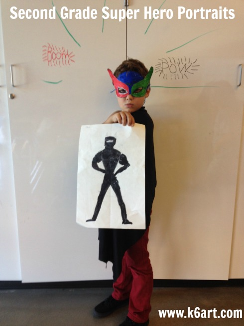 Jack's super hero self portrait